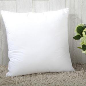 40*40 Белая наволочка пустые матовые наволочки Главная диванная подушка декоративные квадратные наволочки DDA31