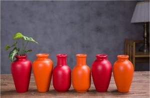 vaste maison haut de gamme poterie noire quotidienne fleur décoration moderne intercalation céramique simple vase Une variété de combinaisons de vastes