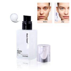 1 Pc Primer Maquiagem Líquido Fosco Base de Maquiagem Oil-controle Ilumine Linhas Finas Creme Para o Rosto Longo-duradoura Fundação Primer Cosméticos