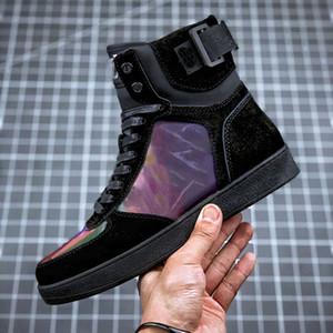 Moda Feminina Curto botas impermeáveis Denim 5D Tecido Magic Color quentes Shoes Women Non-Slip Windproof Cotton Botas