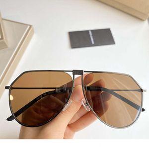 Gafas de sol para hombre Marca Metal Hombre Gafas de sol Código 2248 Gafas de sol de moda UV400 5 colores de alta calidad con caja