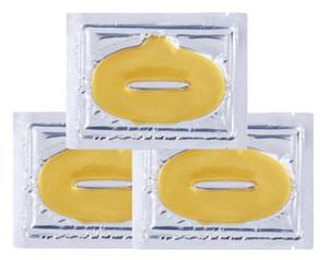 Donne Maschere Labbro Oro Sexy Crystal Labbro Membrana Collagene Essenza di Umidità Labbra Plumper Maschera per la cura delle labbra Cura del viso cosmetica