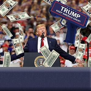 Gun argent avec de l'air Drapeau Trump Imprimer 100 x Trump Dollar Bill Argent Pleut Keep America Great voiture freshene Trump 2020 Paper KKA7859