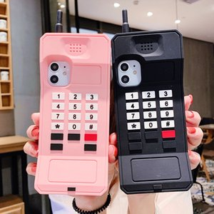 3D Cellular Classic Mobile Phone Case For iPhone 11 Case 11Pro Max Xs Max 6 7 8 Plus Retro Protection Anti Cellulite Soft Cover