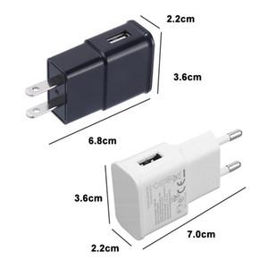 UE / EU plugue 5v carregador de parede 1a USB 5V1A por samung