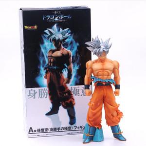 Yeni 26cm Ultra İçgüdü Goku Eylem Şekil Dragon Ball Koleksiyon Model Oyuncaklar ile Orijinal Kutusu En İyi Hediye İçin Boy