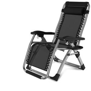 Katlama Plaj Sandalye Hafif Açık Kamp Taşınabilir Sandalyeler Ofis Öğle Sırt Lounge Chair