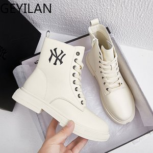 Women Ankle Boots Autumn Platform Sneakers Winter Shoes Buckle Motocycle Boots