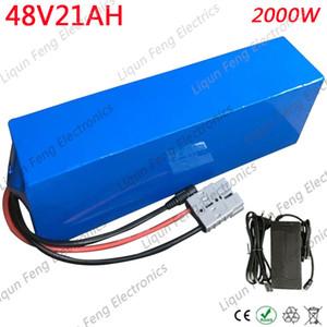 Batterie de 48V E-Bike batterie de scooter 48V 20Ah batterie 48V 20Ah batterie de lithium électrique de vélo pour 1000W 2000W moteur en libre service avec chargeur 3A
