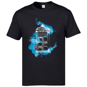 Doctor Who TARDIS Camisetas Marvel Magic Dr Who Camisetas Máquina E Tempo Dalek Nave Espacial T Camisa Boa Qualidade Europa Tops Homem