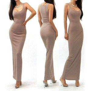 2019 nouvelles femmes vêtements moulantes combinaisons d'été robes de soirée club robe de soirée vêtements gilet Longuette Street Style robes occasionnelles 80 pcs