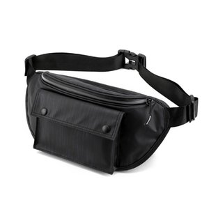 Mens Travel Chest Belt Street Fanny Packs Bags Female Bags Bauchtasche Sling Womens Waist Male Jskvh