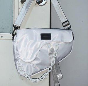 Waterproof Nylon Unisex Oversize saco da cintura Baú Mulheres Bolsas de Ombro Grande Capacidade Saddle Bag