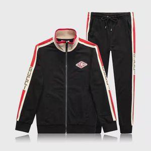 SS19 nuovo marchio famoso Felpe con cappuccio da uomo e uomo Abbigliamento sportivo Pantaloni da uomo Pantaloni da jogging Set da dolcevita Tute sportive Tute da ginnastica