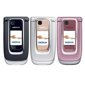 الأصلي مجدد مقفلة نوكيا 6131 رخيصة الهاتف الخليوي GSM الروسية لوحة المفاتيح الإنجليزية بلوتوث MP3 الهاتف الخليوي الوجه