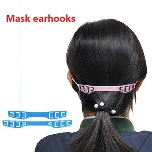 Orelha ajustável Hooks Buckle para máscara facial Adultos Crianças Earache Fixer Extensão Buckle Anti-Slip Máscara Orelha aperto Extensão Hooks