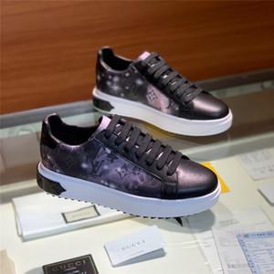 louis vuitton Lv Scarpe da corsa di lusso da uomo Sneaker in vera pelle con lacci da donna Calzature traspiranti piatte sportive di tendenza