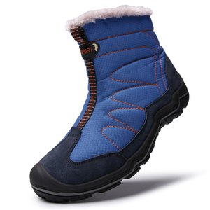 JAYCOSIN 2019 Winter Snow Boots Men Warm Shoes with Fur Plush Men Waterproof Outdoor Non Slip Rubber Shoes Quality Ankle Boots