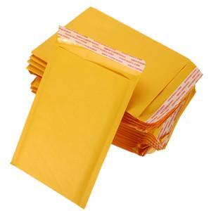 50 개/Kraft 종이 거품 봉투 봉 우편물을 봉투를 덧대진 발송이블 우편물 발송