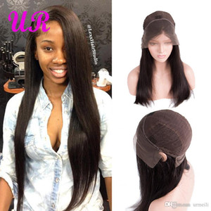 Human Hair Lace Front Wigs 10A raw indian virgin remy human hair 150% Density dhgate 13*4 human hair wig Perruques de cheveux humains