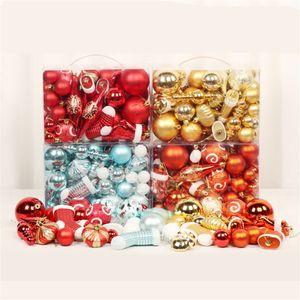 Noel ağacı JK1910 için Noel Topu Süsleri Karışık kolye Kırılmaz Topu Süsleme Dekoratif Baubles Kolye İdeal