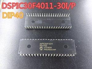 10pcs / lot yeni Entegre Devreler DSPIC30F4011-30I / P DIP40 MCU 16BIT 48KB FLASH stok ücretsiz kargo içinde