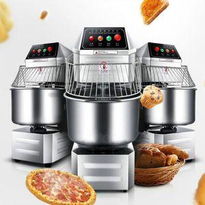 Gewerbe Knetmaschine für Pizzabrot Shop gedünsteten Teignahrung rühren Maschine doppelte Wirkung doppelter Geschwindigkeit bun