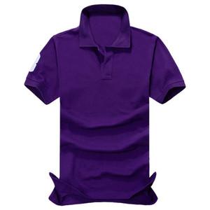 A10 Mens Designer Polos Marca cavalo pequeno crocodilo bordado homens roupas carta tecido polo t-shirt do colar t-shirt casual tops camisetas