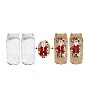 Personnalisé Ladies chaussettes 3D Impression numérique Casual Socquettes Unicorn Cartoon personnalisés Imprimer Hip Hop Femme Socks gratuit Personnalisation