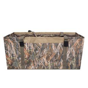 12 Slot Duck Decoy Bag com Alça de Ombro Ajustável Acolchoado Portadores de chamariz entalhados para Duck Goose Turquia Caça Bag