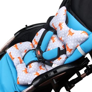 Cartoon Baby Stroller Safety Seat Cushion Baby Car Cotton Cushion Thickened Cushion