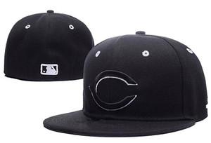 Billig Ausgestattete Hüte Sonnenhut NY Hut Reds Cap Team Baseball Gestickte Team Flat Brim Erwachsene Baseball