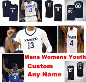 NCAA Xavier Mosqueteiros Jerseys Daniel Ramsey Jersey Schrand Scruggs Singh Zak Swetye kyky Tandy College Basketball veste costurado personalizado
