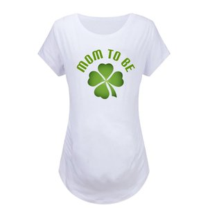 High Quality Maternity T-shirt Women Pregnant Clothes Short Sleeve Letter T-shirt Blouse Pregnant Womens Clothing #16