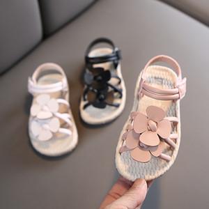 Los niños calzan 2020 zapatos de verano para niños linda princesa Flores sandalias sandalias de chicas Bebé Niños 21-25