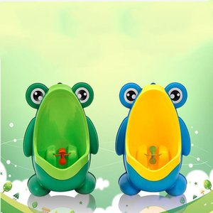 Nuevo diseño PP Frog Niños Stand Vertical Orinal Montado en la pared Potty Groove Niños Baby Boys Urinal Promoción Montado en la pared WC de entrenamiento