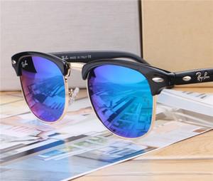 Pilot çerçeve en kaliteli üst seviye açık UV400 koruyucu gözlük toptan cömert minimalist tarzı