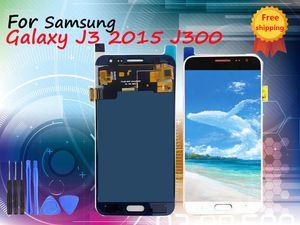 Original LCD Display + Touch Screen für Samsung Galaxy J3 2015 J300 J300F J300H LCD Digitizer Assembly mit Reparatur freies Verschiffen