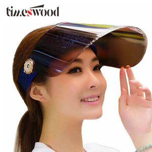 Sommerferien-Neon Sun Visiere Sunvisor Party-Hut durchsichtiger Kunststoff Cap Motor Höchstkappen Anti-UV Sonnenschutz Fahrradkappen