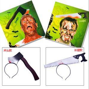 Simüle Terör Mutfak Bıçağı Hairband Oyuncaklar Silah Bandı Oyuncak Komik Parti Performans Sahne Fit Cadılar Bayramı Dekorasyon 3 5jr E1