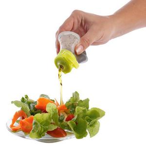 Mini Silicone Salad Dressing Recipientes De Armazenamento Pequeno Mergulho Condimento À Prova de Fuga Molhos Frascos Squeeze Bottle Cozinha Ferramentas 2 Onça wh0747