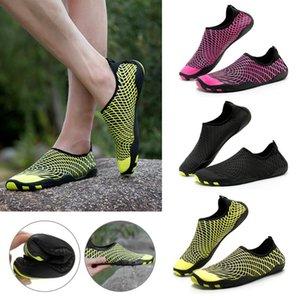 2019 Unisex Aqua Shoes Summer Beach Outdor Shoes Treking Senderismo Upstream Walking Water Dry Sneaker For Men Women