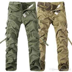 2017 рабочие брюки рождество новая мужская повседневная армия грузовые камуфляторы Camo Combat работа брюки брюки 6 цветов размером 28-38