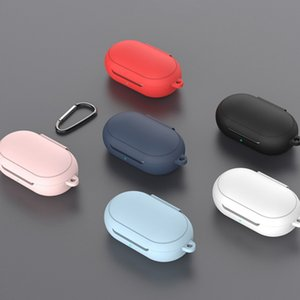 Caso del auricular de silicona protectora para el Samsung Galaxy Brotes + Bluetooth para la galaxia Brotes Plus Auriculares de carga Caja Accesorios