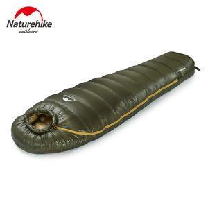NatureHike Mummy Duck Down saco de dormir para ir de excursión Camping Camping NH15D800-K C18112601