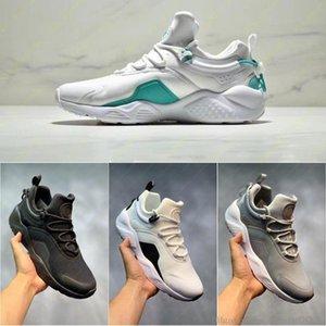 2019 كلاسيك جديد Huarache مدينة نقل 8 رجال الاحذية النسائية أبيض أسود أوريو حذاء رياضة الثلاثي لينة Huarache 8 أحذية المدربين الرياضة 36-45
