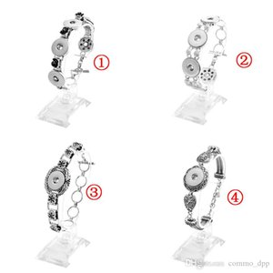 Noosa Chunk Snap Button Charm Bracelets Fit 18MM Ginger Snaps interchangeable DIY Bangle bracelet For women's Fashion Jewelry