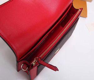 Designer-mini crossody bag flore chian purse long wallet brand iconic genuine leather shoulder bag clutch card holder flower lock new design
