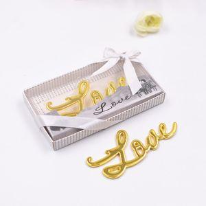 Free shipping Love design beer bottle openers Individual creative bottle opener wedding return gifts bridal shower favors