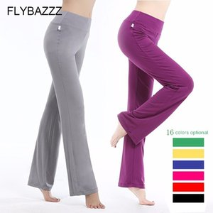 2019 New Women Yoga Pants Solid Drawstring High Waist Yoga Leggings Dancing Fitness Lady Sports Trousers Loose Sports Wear S-3XL Y200529